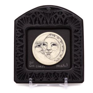 """In Good Graces"" Small Chip Carved Frame"