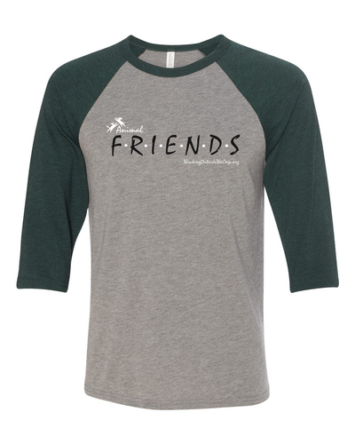 Friends Raglan Baseball Shirt