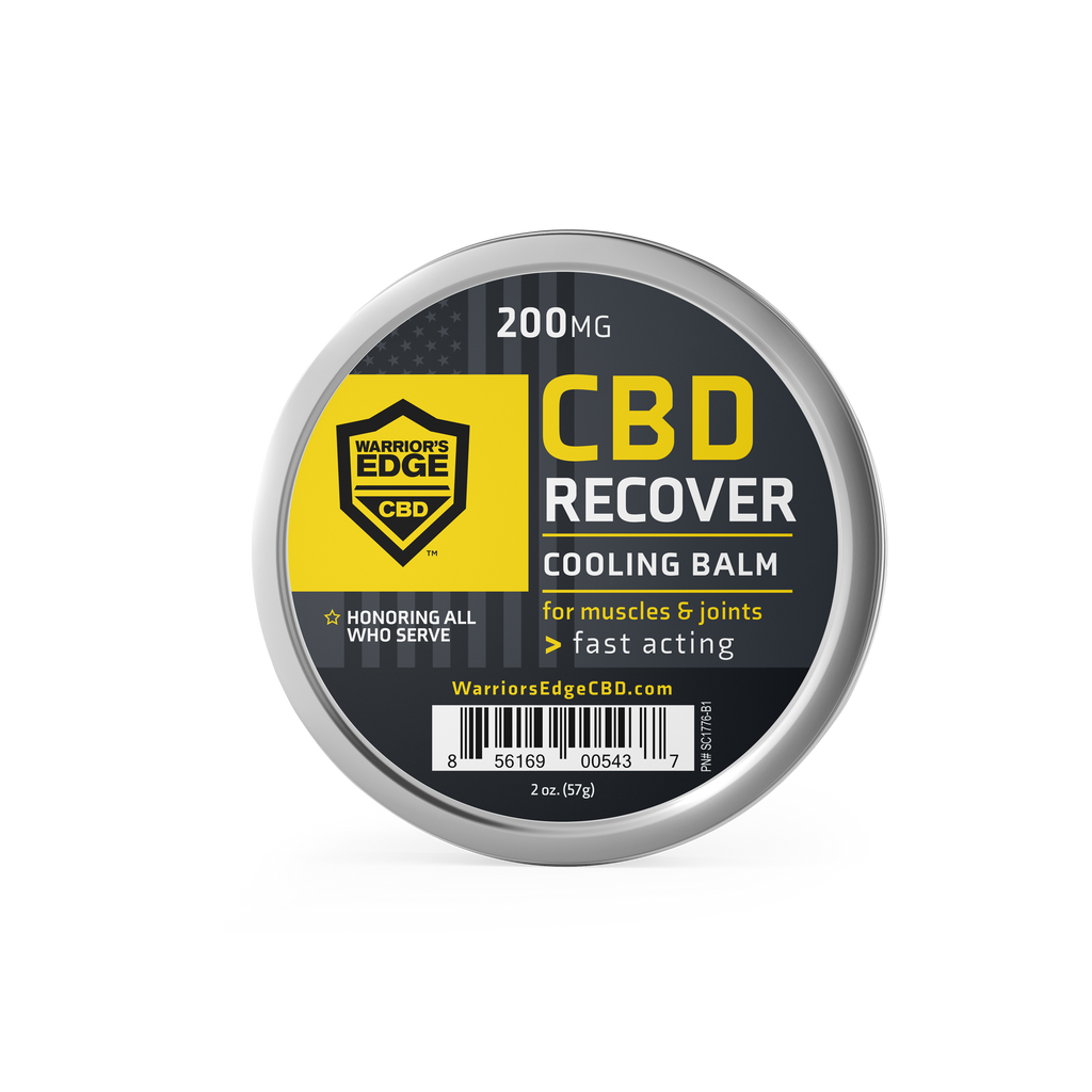 CBD Recover Balm 200mg (2oz Tin)