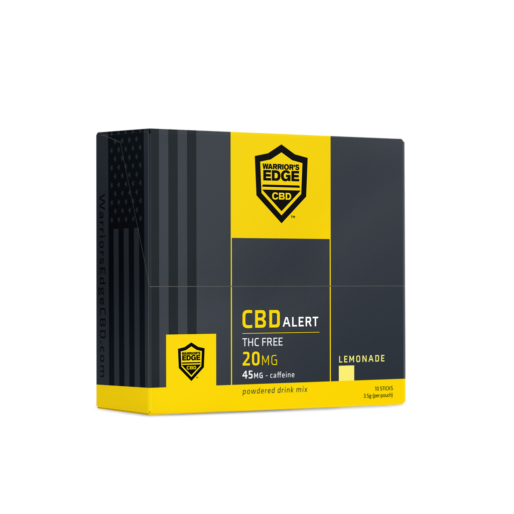 CBD Alert Lemonade Packets 10ct - 200mg