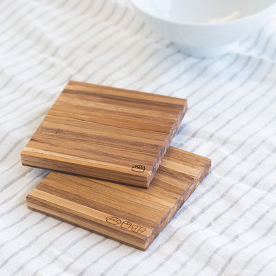 Eco-Friendly Sushi Coasters