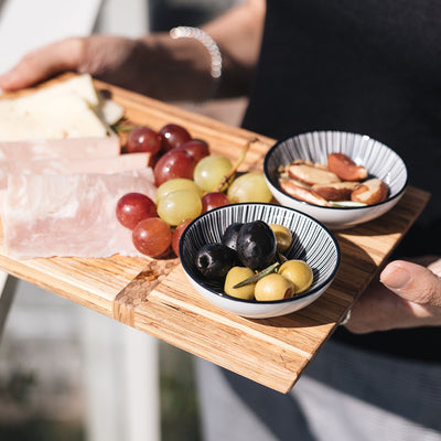 Eco-Friendly Serving Set (Charcuterie Board and Coasters)