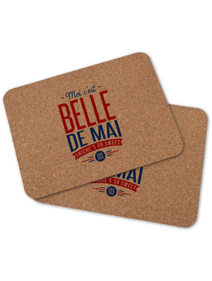 2 sets de table BELLE DE MAI