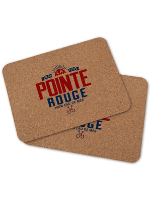 2 sets de table POINTE ROUGE
