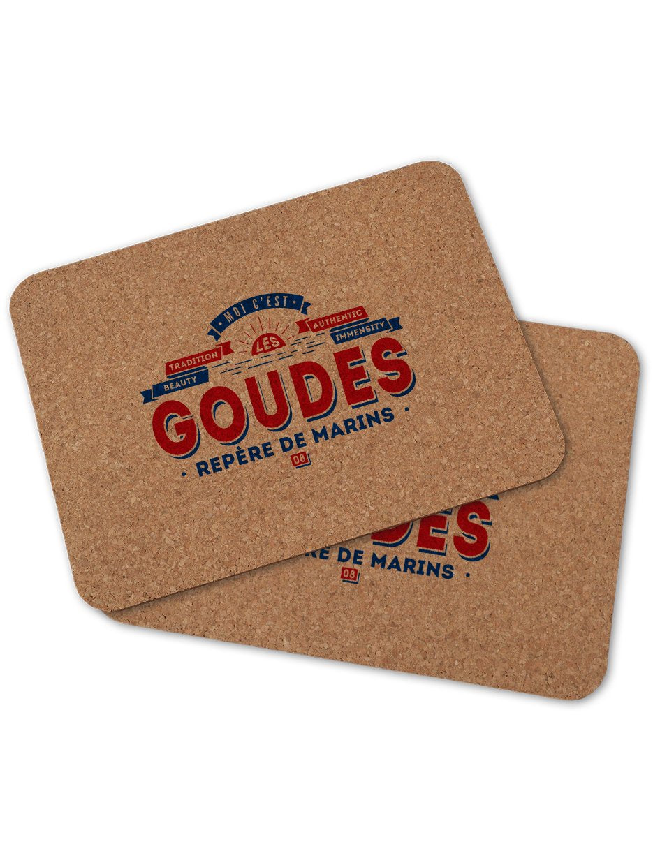 2 sets de table LES GOUDES