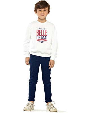 Sweat enfant unisexe BELLE DE MAI