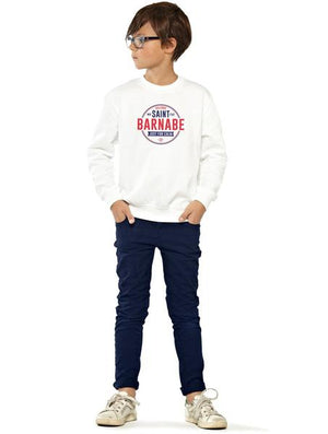 Sweat enfant unisexe SAINT-BARNABÉ