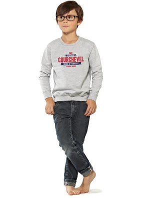 Sweat enfant unisexe COURCHEVEL