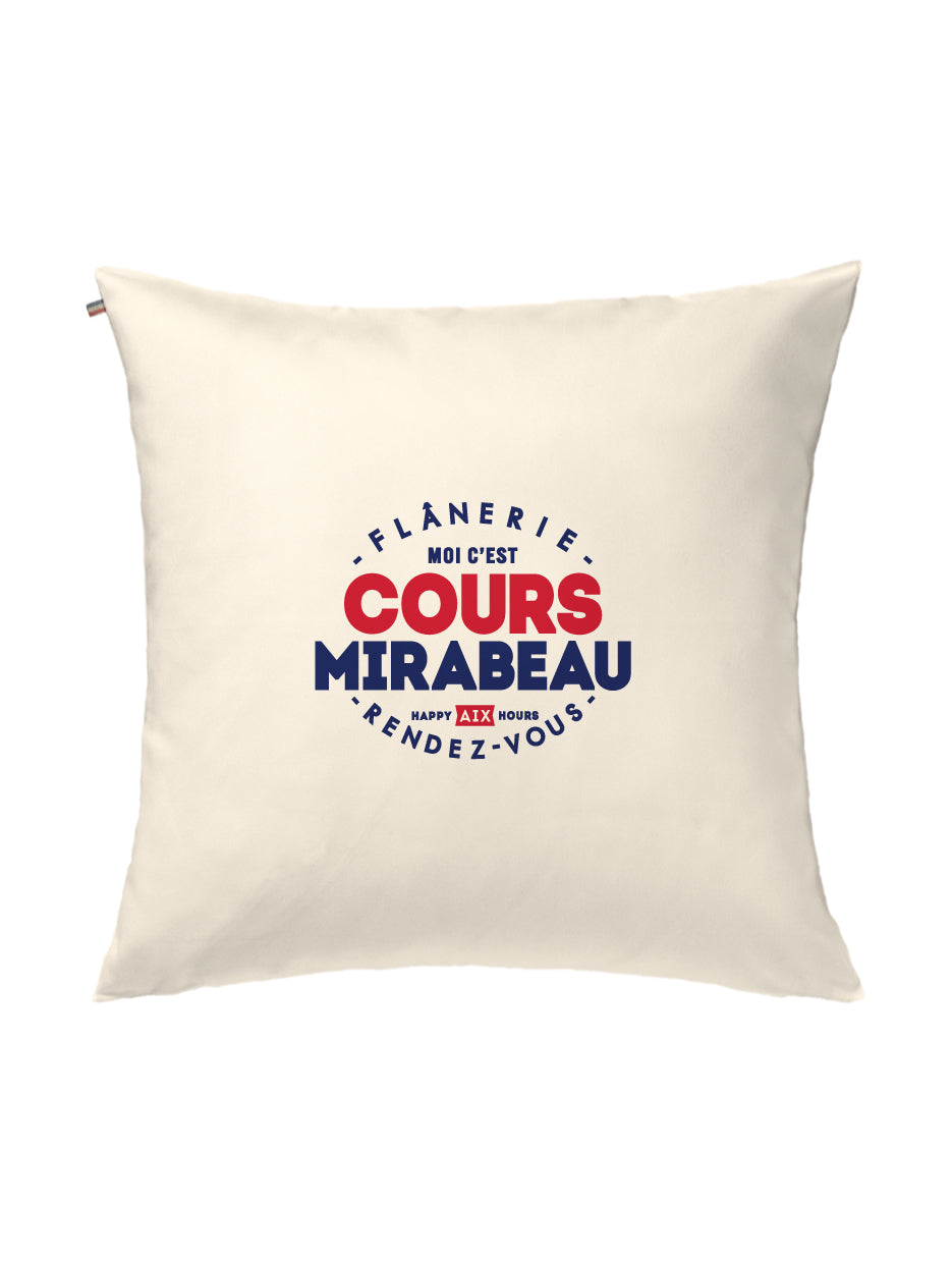 Coussin COURS MIRABEAU