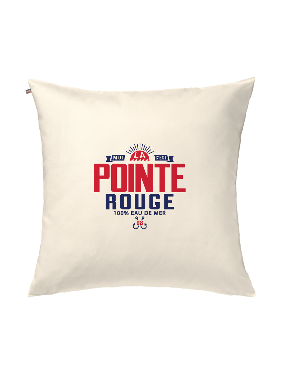 Coussin POINTE ROUGE