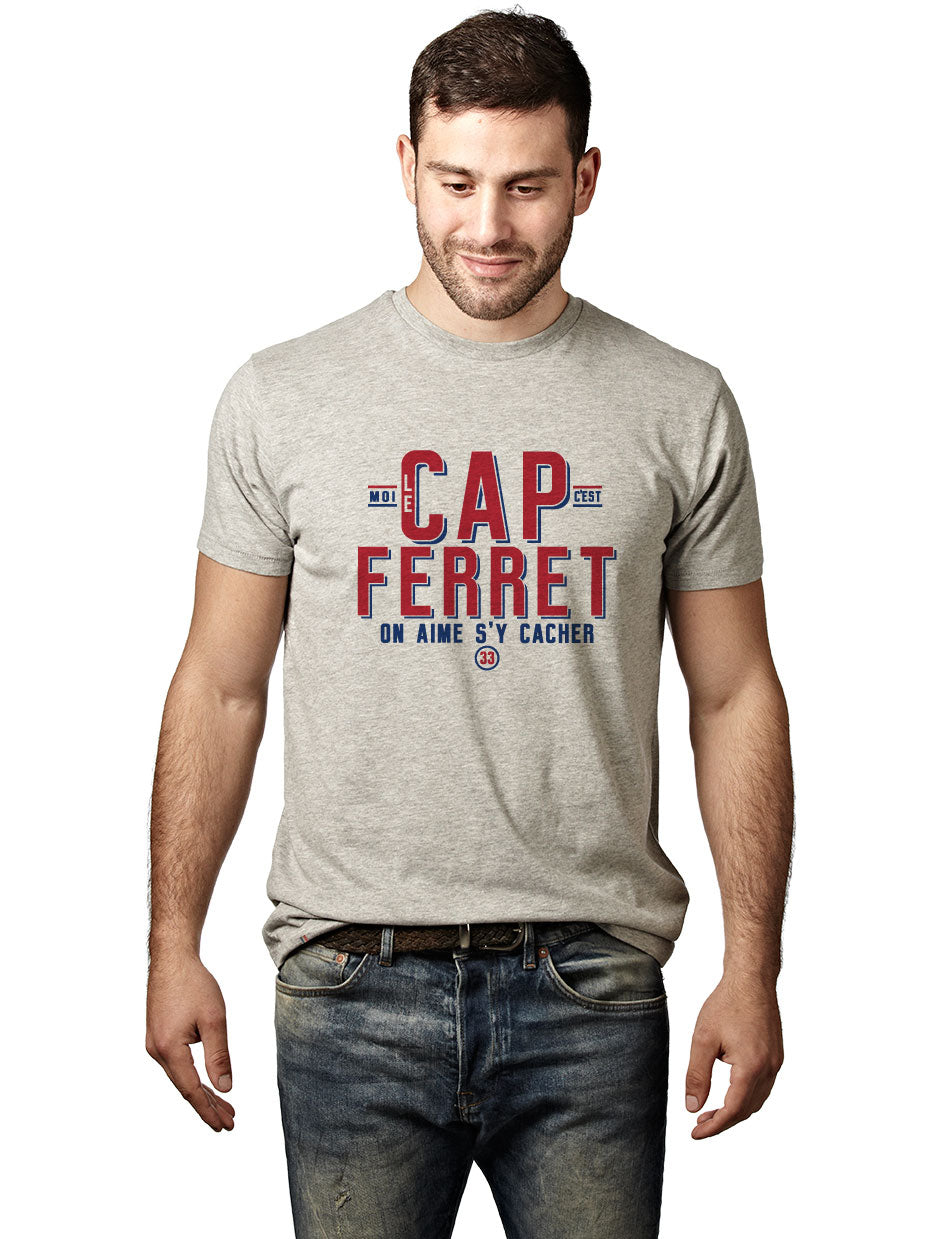 T-shirt exclu web LE CAP FERRET