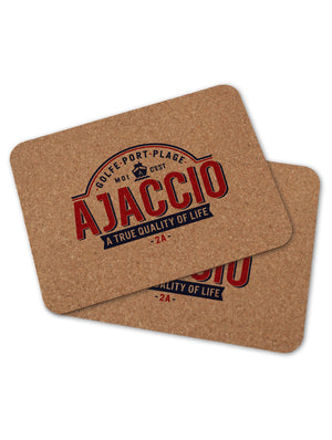2 sets de table AJACCIO