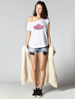 T-shirt oversize raw COURCHEVEL