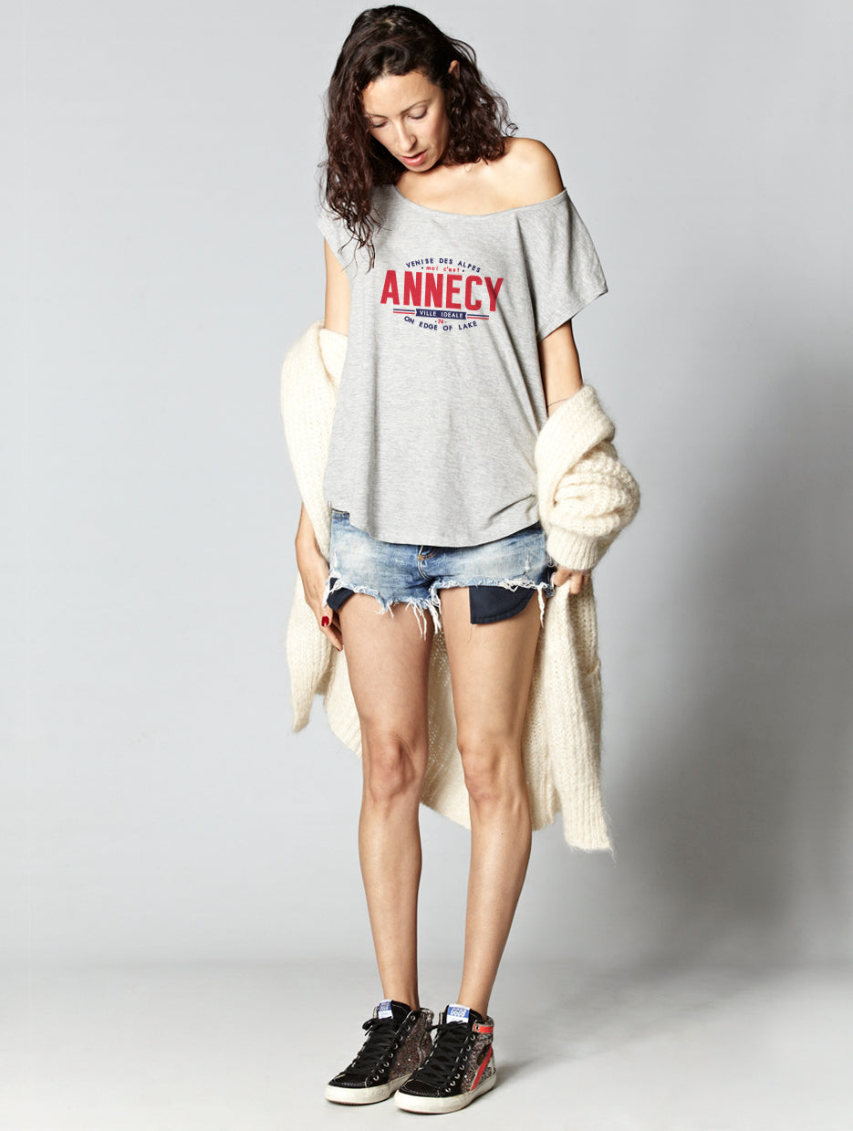 T-shirt oversize raw ANNECY