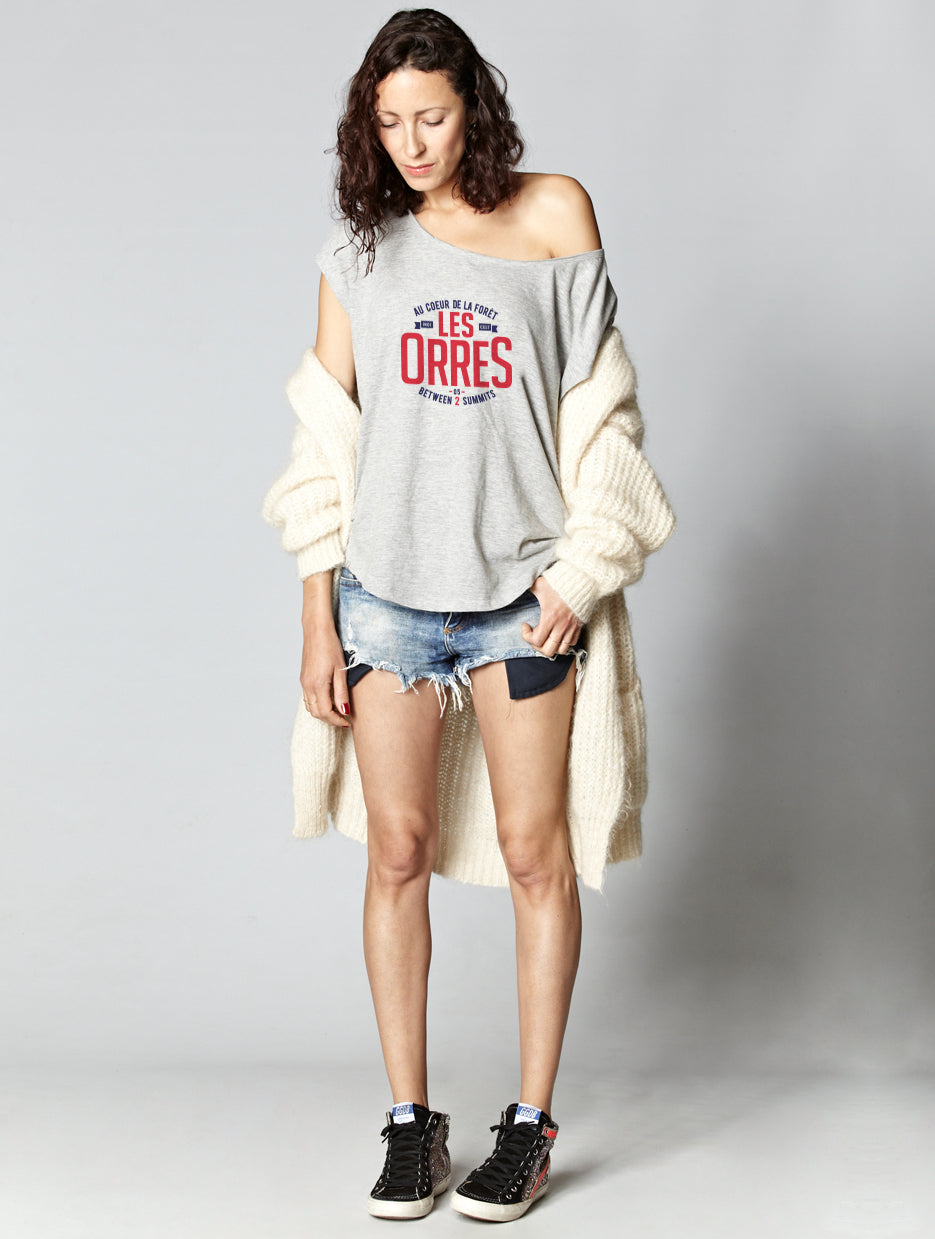 T-shirt oversize raw LES ORRES