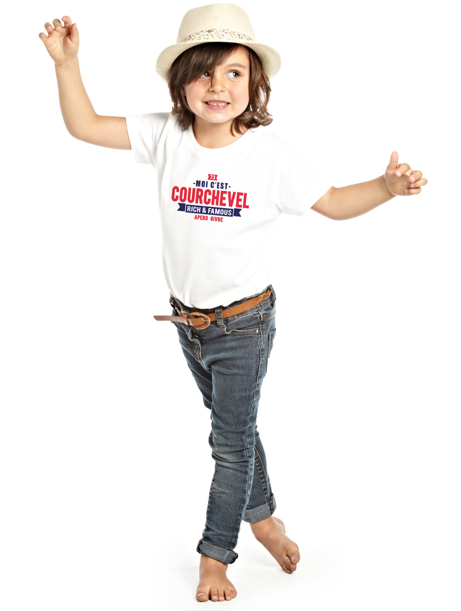 T-shirt enfant unisexe COURCHEVEL