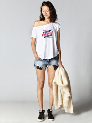 T-shirt oversize raw ENDOUME