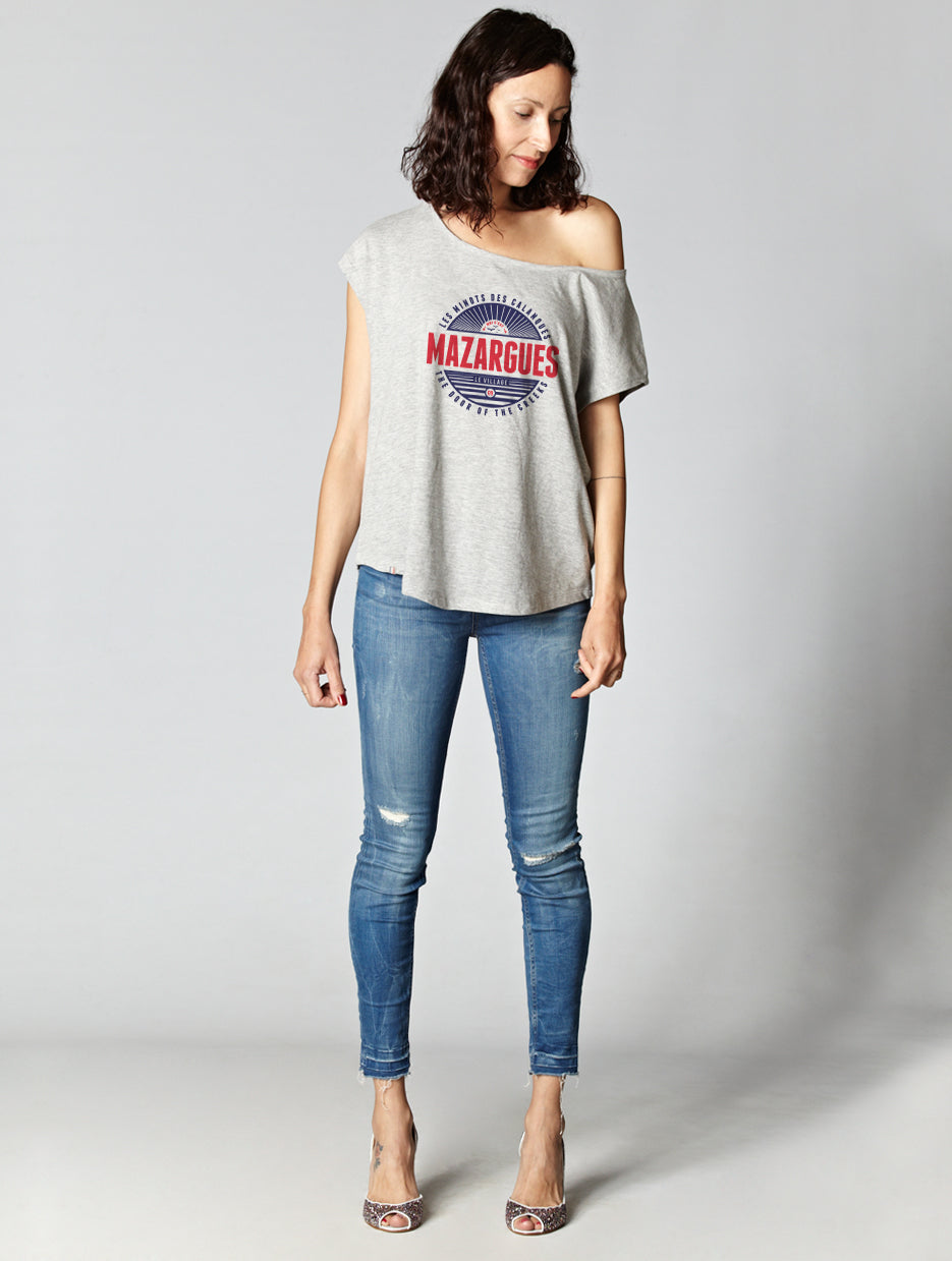 T-shirt oversize raw MAZARGUES