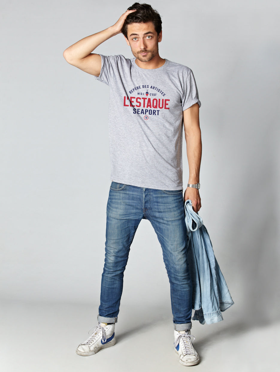 T-shirt homme Bio L'ESTAQUE
