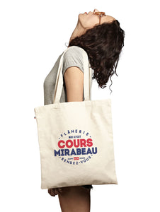 Tote bag COURS MIRABEAU