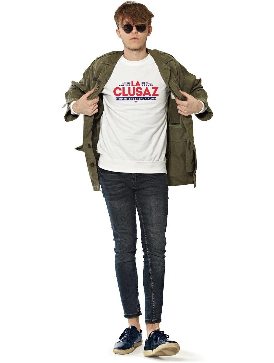 Sweat Homme LA CLUSAZ