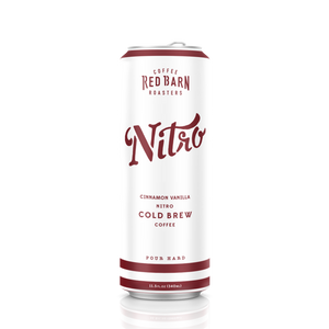 Cinnamon Vanilla Nitro Cold Brew Can
