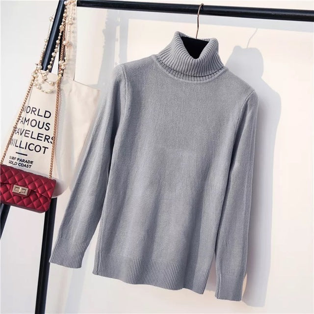 Marwin NewComing Thick Turtleneck Casual Warm Soft Pullovers