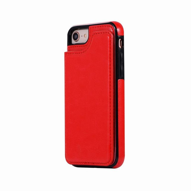 Case For iphone X Case Cover iphone X Flip Leather PU Wallet Card Slot Stand Phone