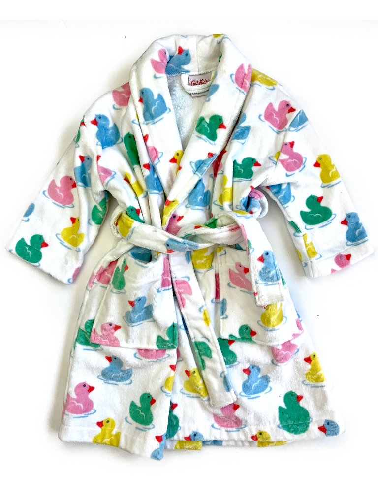 Cath Kidston toweling dressing gown - 3/5 yrs approx
