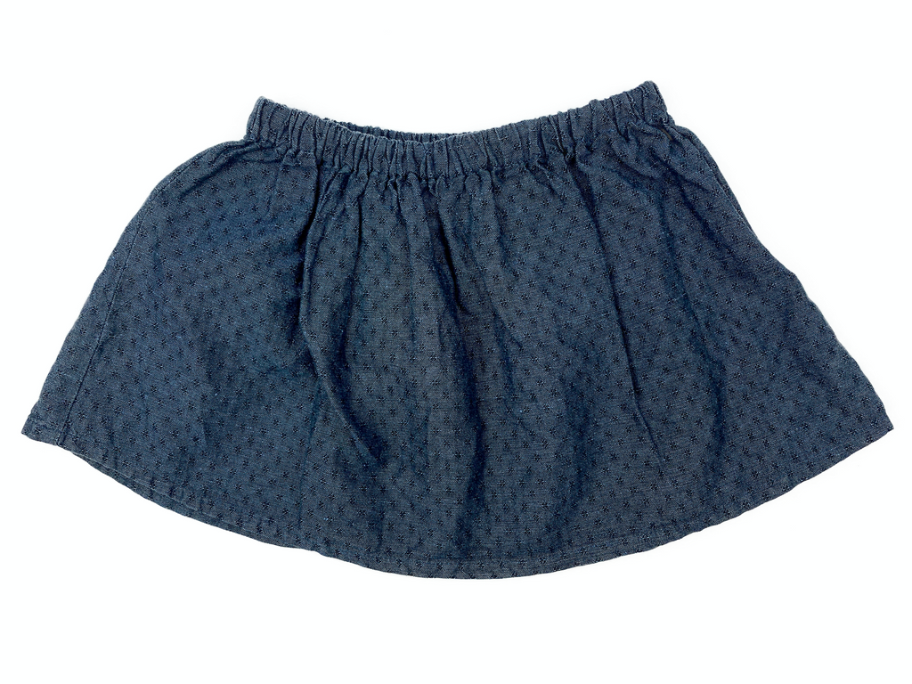 Copy of Mis Crios Navy Cotton Skirt - 4 yrs