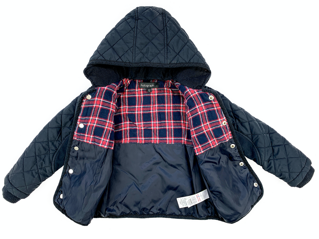 M&S Padded Jacket - 2/3 yrs