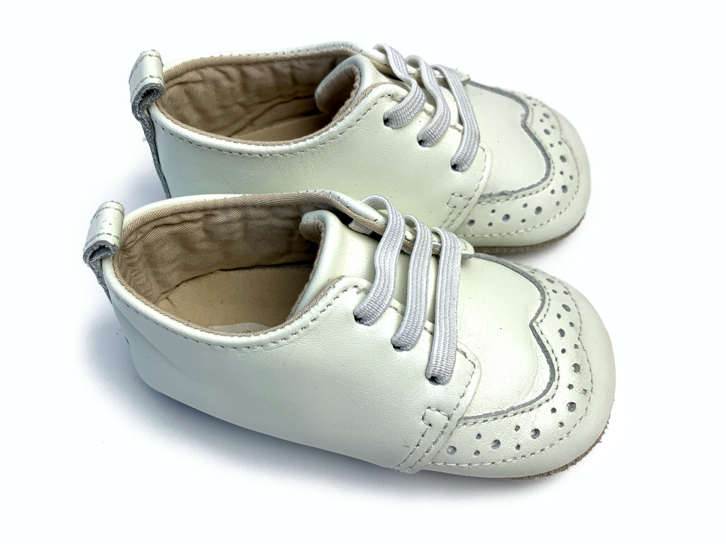 Marks and Spencers Leather Pram Shoes - 6/12 mths
