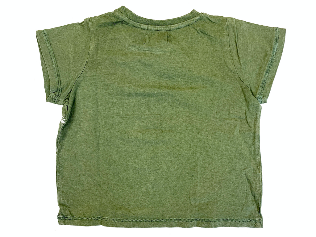 Corte Ingles Olive Green T-Shirt - 18/24 mths