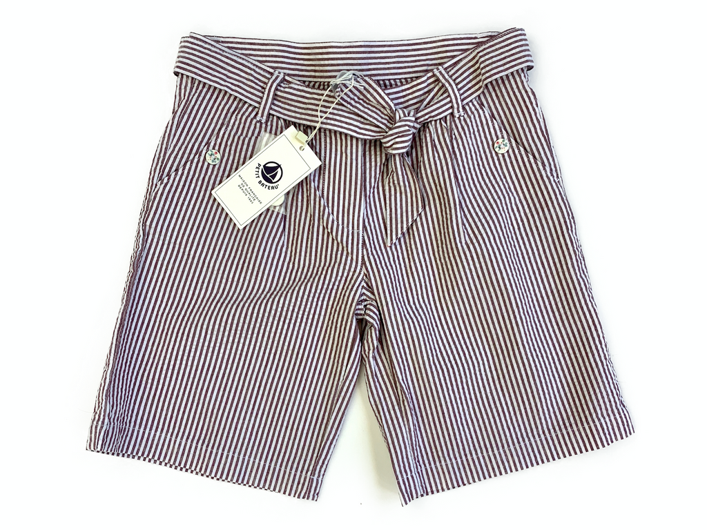 Petit Bateau Shorts with Belt - 8 yrs