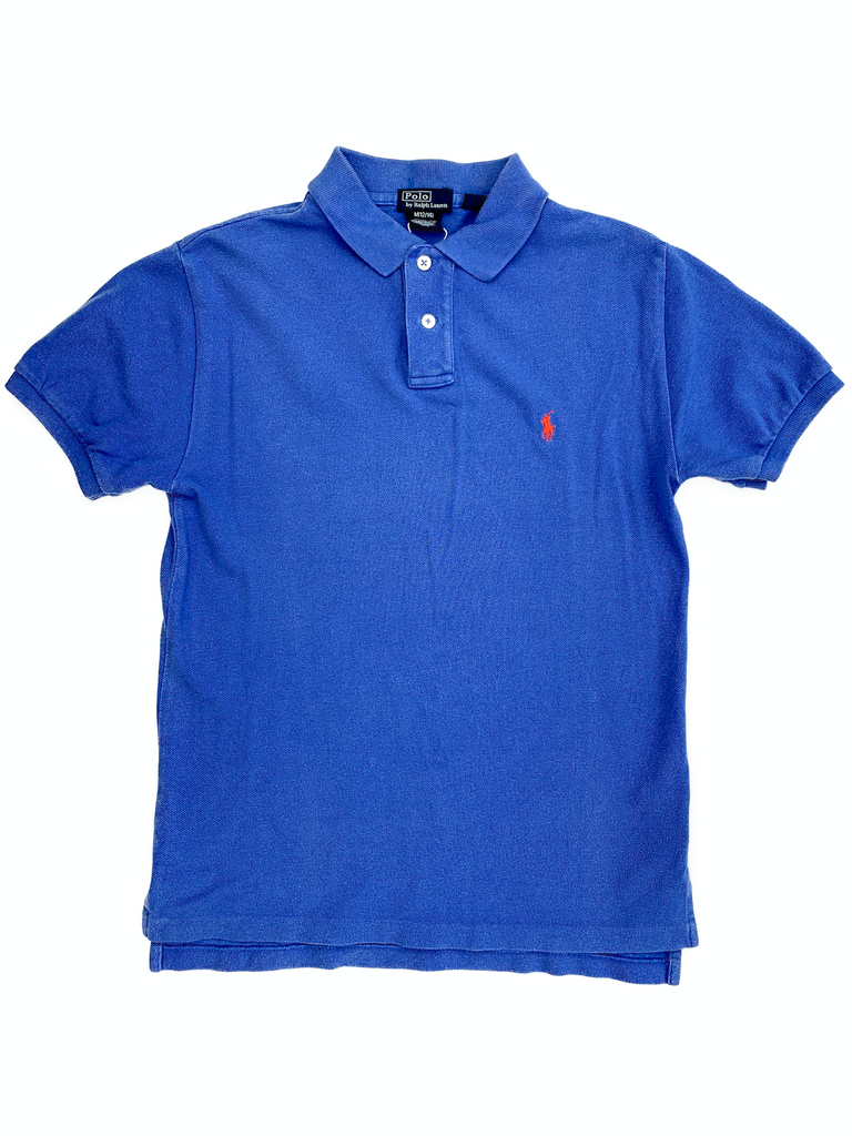 Ralph Lauren Blue Polo Shirt - 12/14 yrs