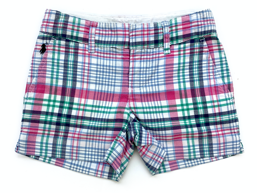Ralph Lauren Checked Shorts - 4 yrs