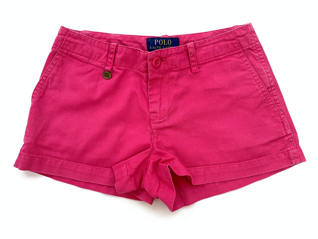 Ralph Lauren Pink Shorts - 7 yrs
