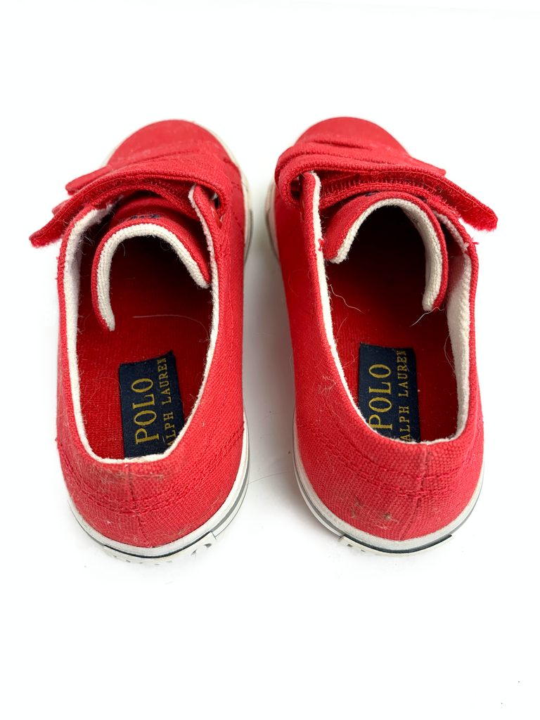 Ralph Lauren Red Trainers - Size 28