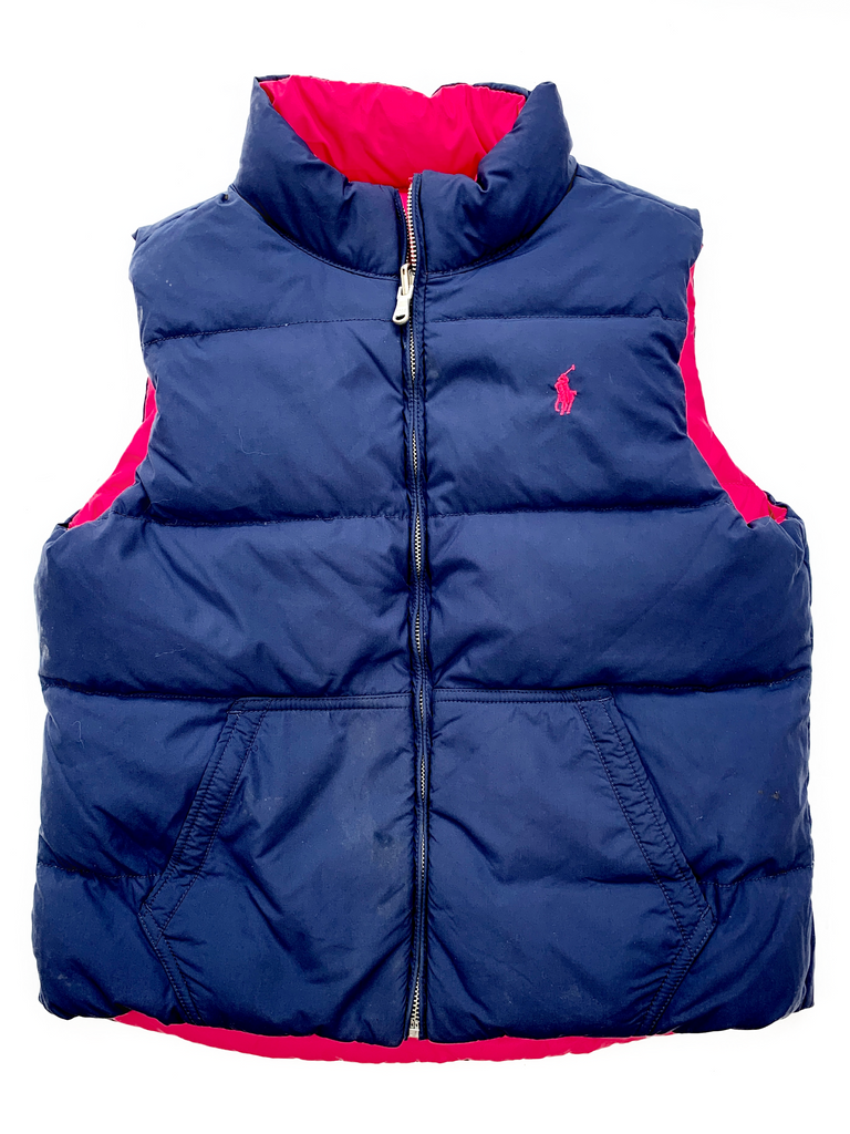 Ralph Lauren Reversible Body Warmer - 12 yrs