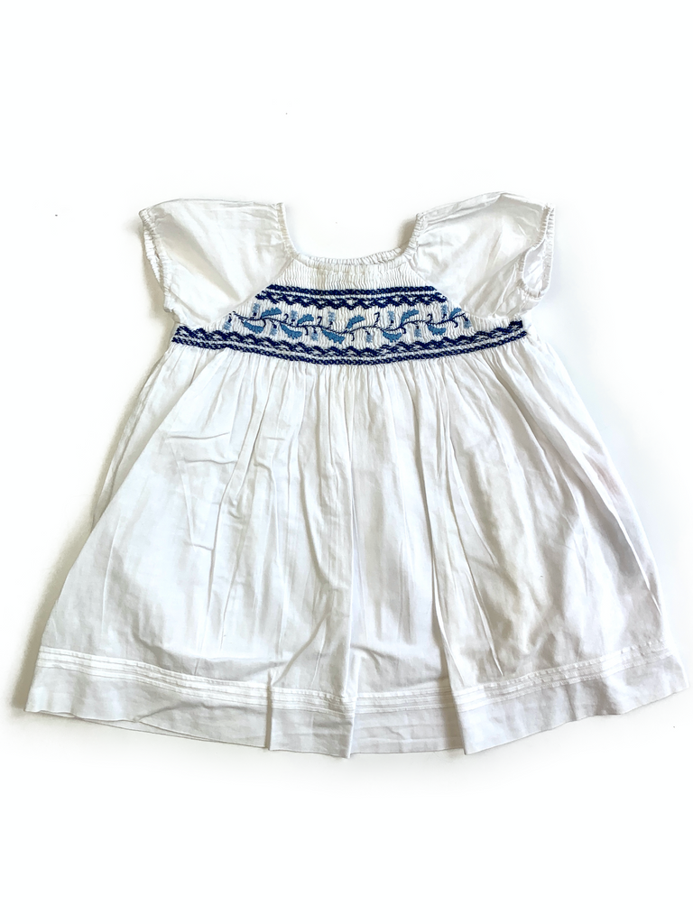 Ralph Lauren Cotton Dress - 9 mths