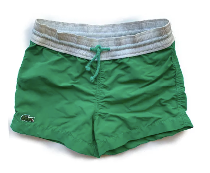 Lacoste swim shorts - 2 yrs