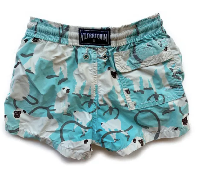 Vilebrequin monkey swim shorts - 4 yrs