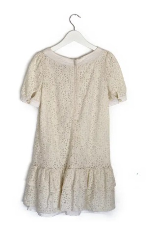 Juicy Couture cream lace dress - 8 yrs