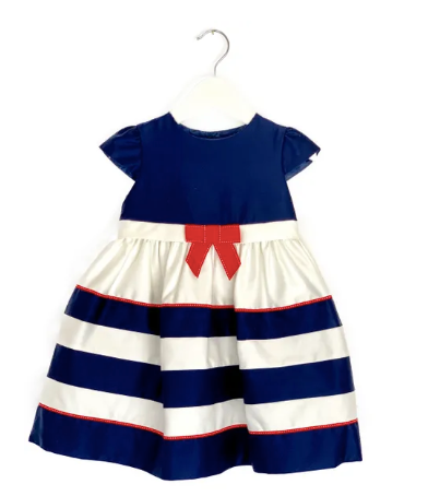 John Lewis sailor dress - 18/24 mths