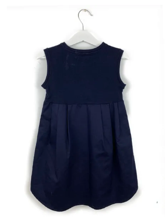 Mis Crios navy dress - 4 yrs