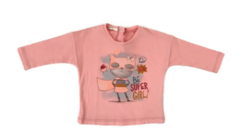 Benetton long sleeved top - 3/6 mths
