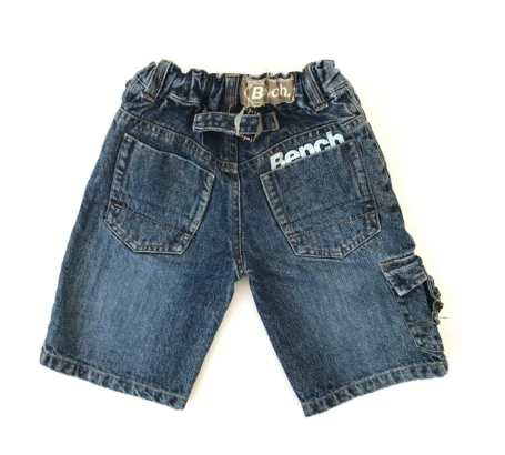 Bench jean shorts - 4/5 yrs