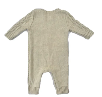 Gap cable-knit babygro - 3/6 mths