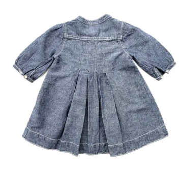 Gap denim dress - 12/18 mths