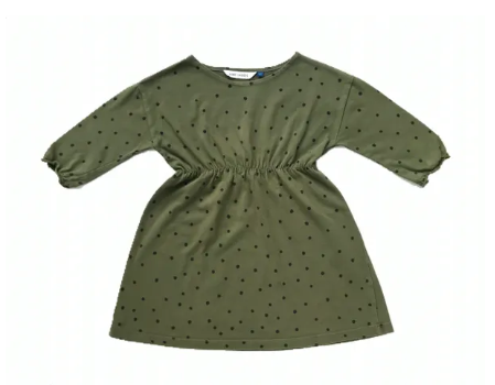 Bobo Choses 100% organic cotton spotty print dress - 4/5 yrs